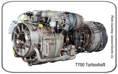 General Electric T700 GE 401 Turboshaft Engine PowerWeb