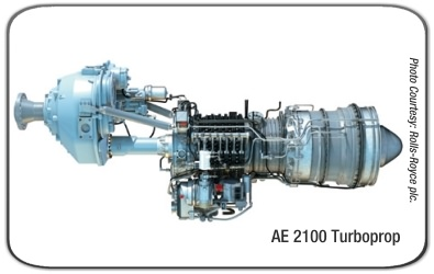 Rolls-Royce AE 2100 Turboprop Engine