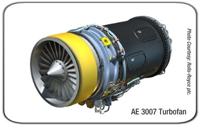 Rolls-Royce AE 3007H Turbofan Engine